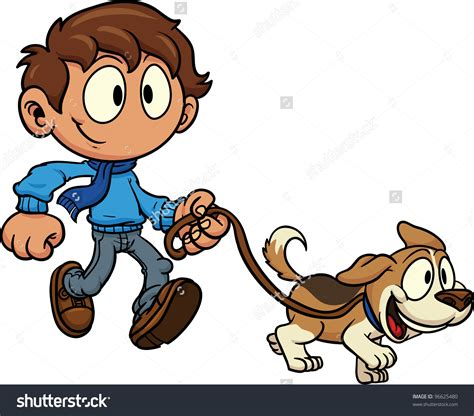 walking a puppy walk clipart clipground