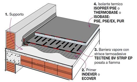 coibentazione terrazzo calpestabile beautiful isolamento termico terrazzo calpestabile photos