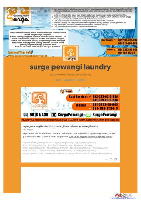 Grosir Parfum Laundry pabrik distributor agen supplier usaha chemical parfum laundry