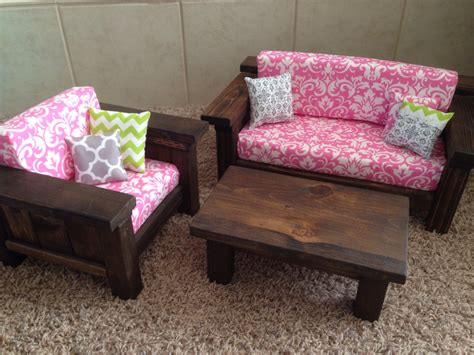 american girl doll couch american girl doll furniture 3 pc living room set couch