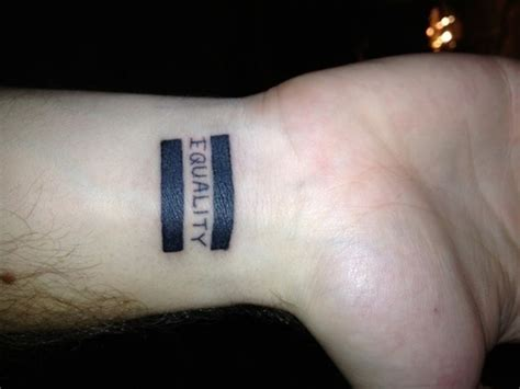 equality tattoos designs ideas and meaning tattoos for you