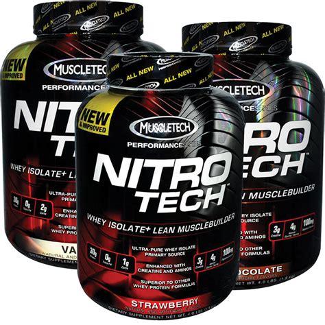 muscletech nitro tech precio nitrotech muscletech 4lb sabores oferta 42 000 en
