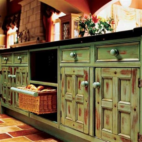 rustic style kitchen cabinets how to decorate the kitchen in rustic style www