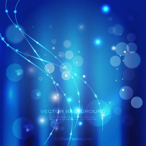 lights background abstract blue light background vector graphic 123freevectors