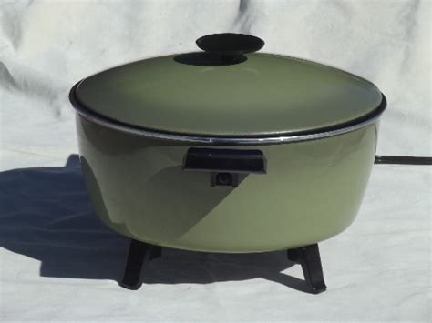 country kettle kitchen vintage west bend country kettle electric cooker retro