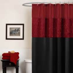 and black checkered curtain for shower