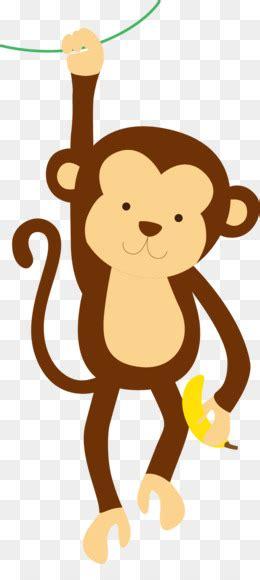 monkey cartoon drawing illustration happy  monkey