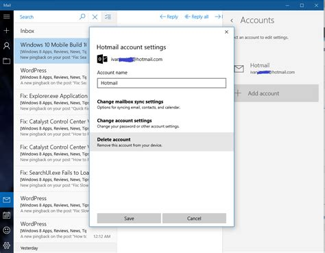 Login Search Email Fix Your Account Settings Are Out Of Date In Windows 10 Mail App