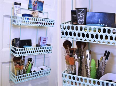 how to organize cosmetics in bathroom small space makeup organization ideas