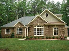 brick house plans brick ranch house plans brick one story house plans all