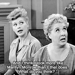 who does lucy davis look like 2 lucy and ethel talk resemblances i love lucy 1950s