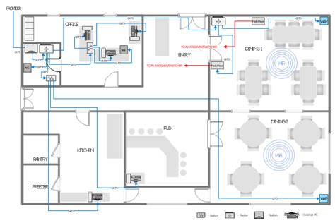 blueprint drawing program network layout floor plans how to create a network