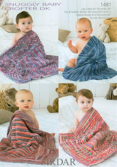 sirdar knitting patterns for children sirdar snuggly baby crofter dk 1481 blankets on sale