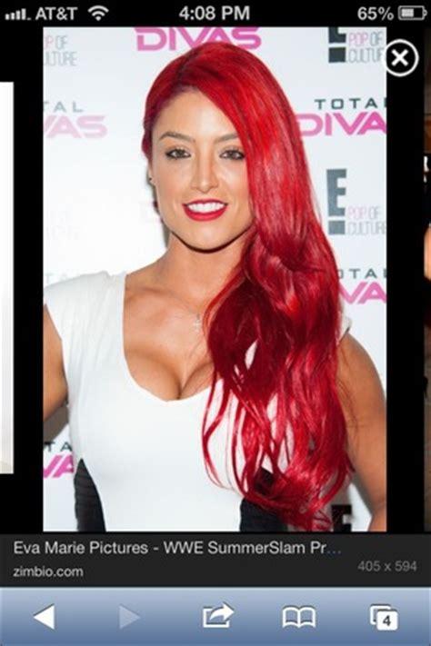 how does eva marie keep her hair so red eva marie hair beautylish