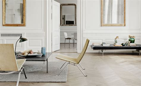 Dining Room End Chairs poul kjaerholm pk22 chair hivemodern com
