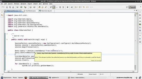 hibernate tutorial sql query hibernate tutorial 26 select and pagination in hql youtube