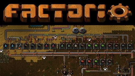 factorio 8 smart factory line for all science packs 1