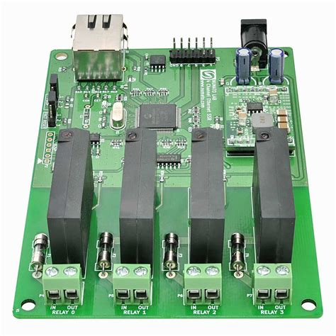 Solid State Relay Ssr Module 4 Channel 4 channel ethernet solid state relay module numato lab