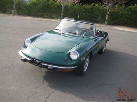 1973 Alfa Romeo Spider by 1973 Alfa Romeo Spider Veloce Awesome