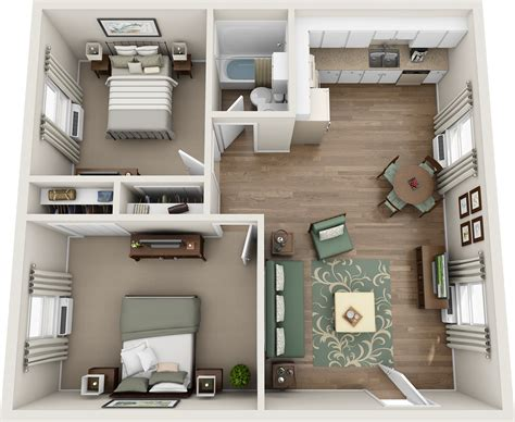 two floor bed two bedroom floor plans rafael home biz apartments within