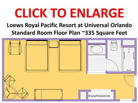 Floor Plan Maker Review Loews Royal Pacific Resort At Universal Orlando