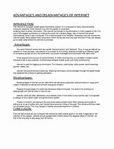 Image result for merits and demerits of internet short essay