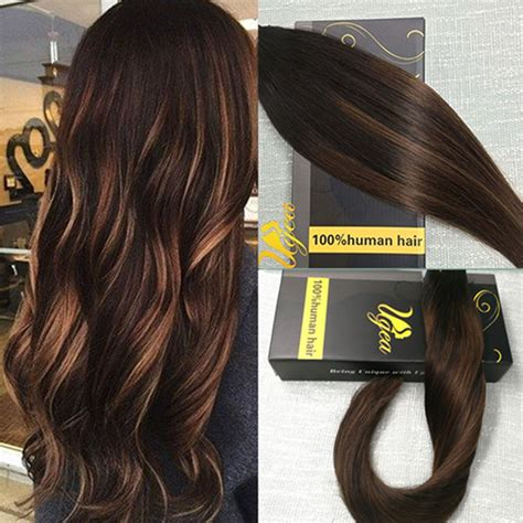 hairstyles with tape extensions seamless tape in human hair extensions balayage remy real