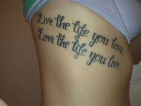 tattoo quotes about living life tattoo quotes about life quotesgram