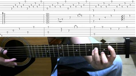 tutorial chord guitar youtube one punch man sad theme guitar lesson tutorial tabs