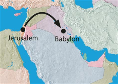 babylon and jerusalem map jehovah saves faithful daniel friend