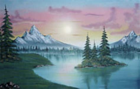 bob ross painting original price bob ross mountain lake painting at paintingforsale me