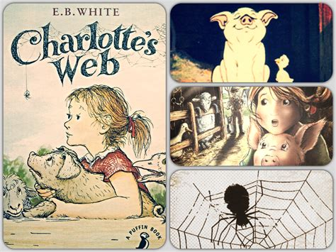 libro charlottes web a puffin a cover story a puffin book penguin blog