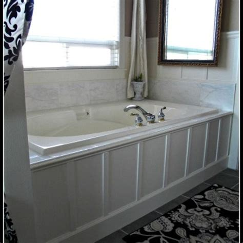 weekend bathroom remodel we updated our 90 s bathtub in one weekend with less than