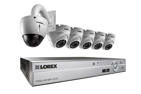 hd cctv security system with 1080p dome cameras and 720p