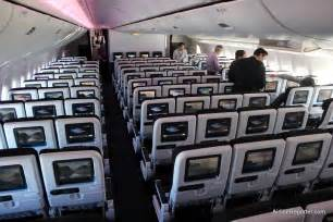 checking out air new zealand s new interior on their