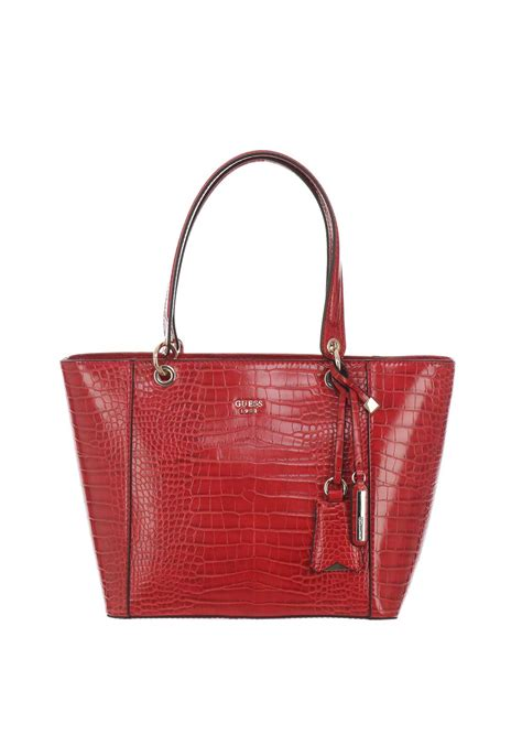 Other Designers Guess The With The Bag by Guess Kamryn Snakeskin Tote Bag Mcelhinneys