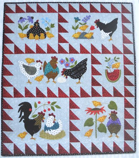 Applique Quilt Kits by Here A There A Quilt Kit Pre Fused