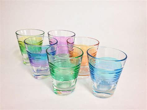 bicchieri decorati bicchieri in vetro e cristallo decorati a mano