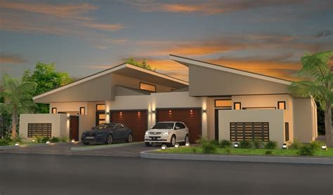 home design interior and exterior 3d architectural visualisation duplex design for marketing purposes whyalla sa units