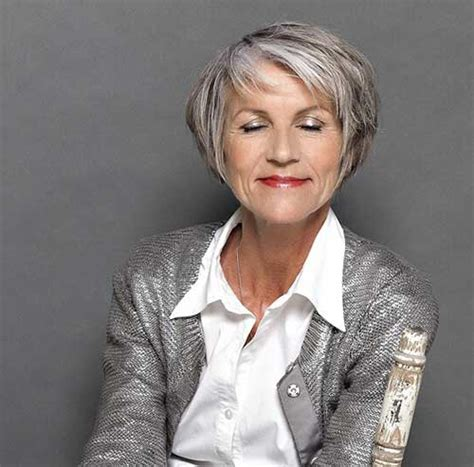 trendy bobs for women over 50 with thin fine hair very stylish short haircuts for women over 50 short