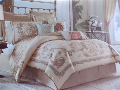 croscill normandy 8 piece queen comforter set new ebay