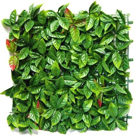 Vertical Wall Garden Bunnings Un Real Hedge 50cm Artificial Photinia Vertical Wall Tile