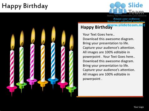 Happy Birthday Powerpoint Ppt Slides Happy Birthday Powerpoint Presentation