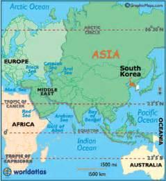 World Map Korea by South Korea Map Geography Of South Korea Map Of South
