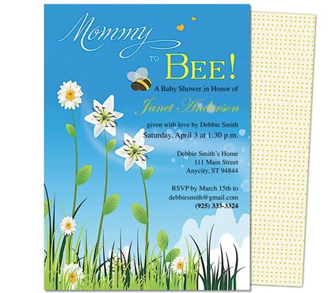 baby shower templates for mac pin by carole galassi on baby shower invitation templates