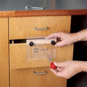 cabinet hardware jig on drawer handle drill jig knobs