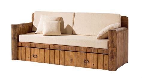 sofa cama rustico con cojines http www