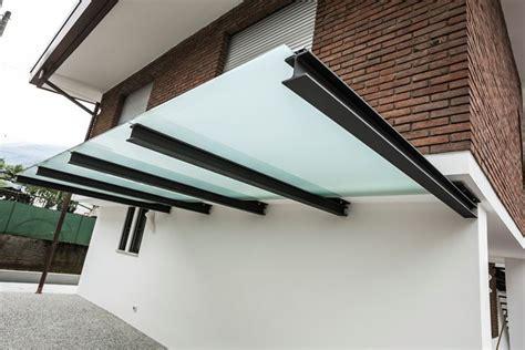 tettoia vetro tettoie in ferro pergole e tettoie da giardino