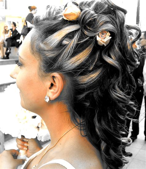 bridal and wedding hairstyles for or hair