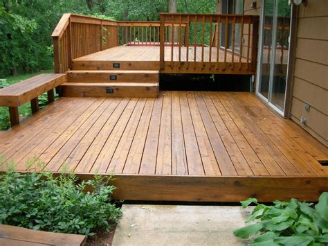 simple wood deck exteriors small deck designs in wooden style